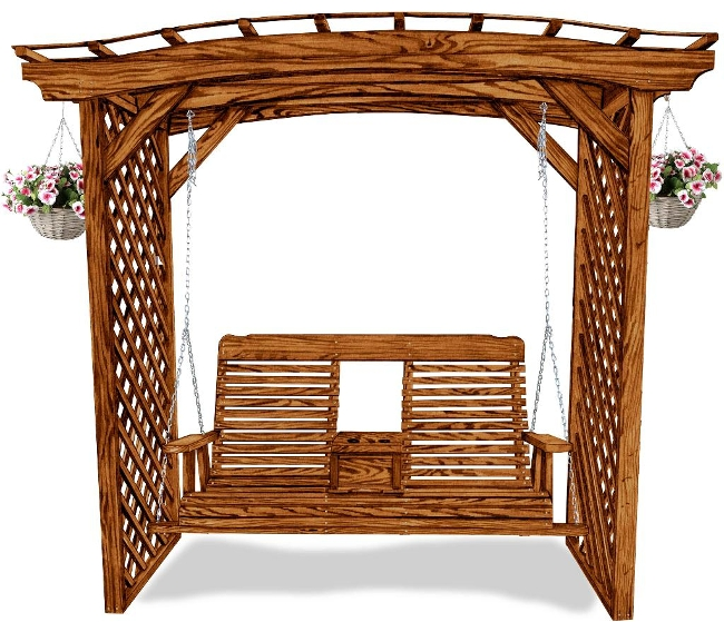 Arbor for 4' and 5' Swing