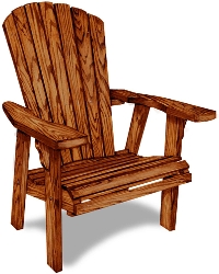 2' Adirondack Chair GS