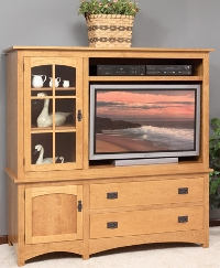3165 Arched Mission TV Cabinet