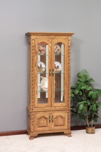 Picture Frame Curio w/Ropes