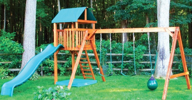 CL#513 Wood PlaySet