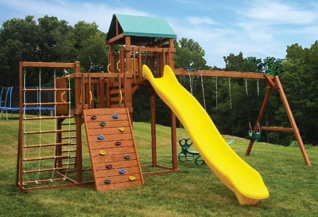 CL#526 Wood PlaySet