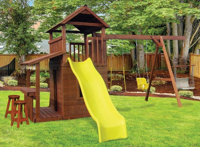 CL#517 Wood PlaySet
