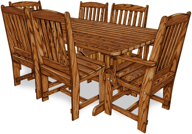 Kitchen Table Captain Chairs In Ri
