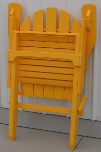 Adirondack Chair (folded position)