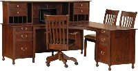 Shiloh Corner Desk (right wing)