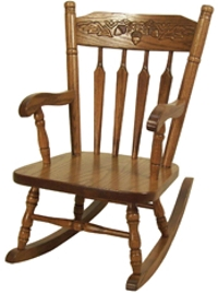 Acorn Rocking Chair