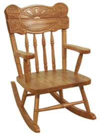 Sunburst Rocking Chair