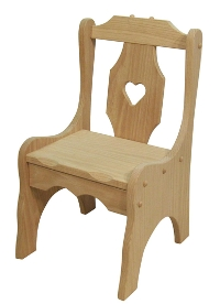 Heart Child's Chair