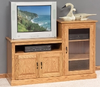 3139 Traditional Hi Low TV Stand