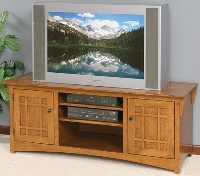3237a Mission Plasma TV Console