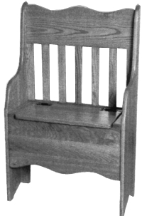 2' Deacon Bench