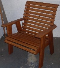 2' Roll Back Chair