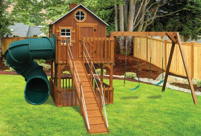 CL#524 Wood PlaySet